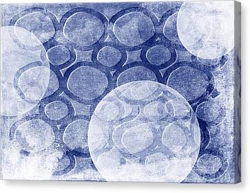 Formed In Winter Canvas Print by Angelina Vick