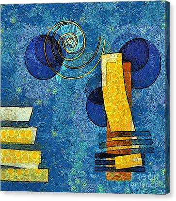 Formes - 09g Canvas Print by Variance Collections