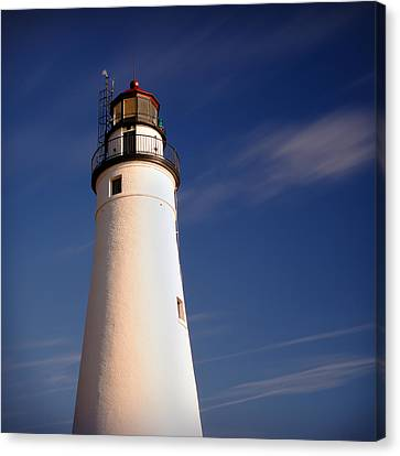 Canvas Print featuring the photograph Fort Gratiot Lighthouse by Gordon Dean II