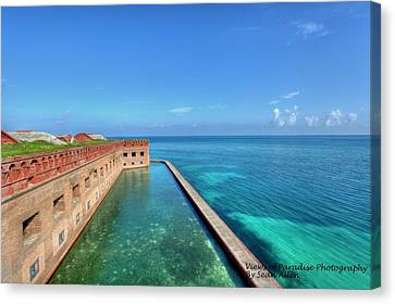 Fort Jefferson Canvas Print by Sean Allen