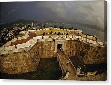 Fort San Diego Warded Off Pirates Canvas Print