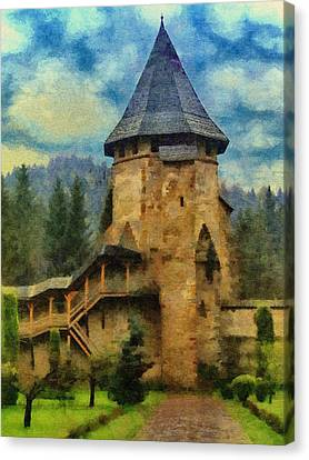 Romania Canvas Print - Fortified Faith by Jeffrey Kolker