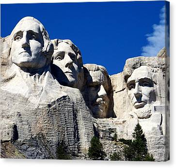 Fortitude In America Canvas Print by Karen Wiles