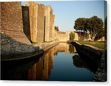 Fortress Canvas Print by Frederic Vigne