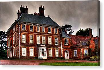 Canvas Print featuring the photograph Forty Hall by David Harding