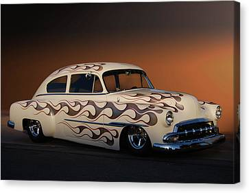 Canvas Print featuring the photograph Forty-nine Fastback by Bill Dutting