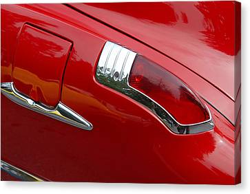 Canvas Print featuring the photograph Fortynine Buick by John Schneider