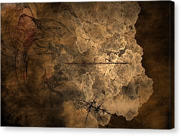 Fossilite Canvas Print by Christopher Gaston