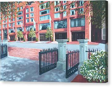 Four Seasons Hotel Canvas Print by Laura DeDonato