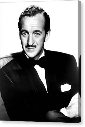 Four Star Playhouse, David Niven Canvas Print by Everett