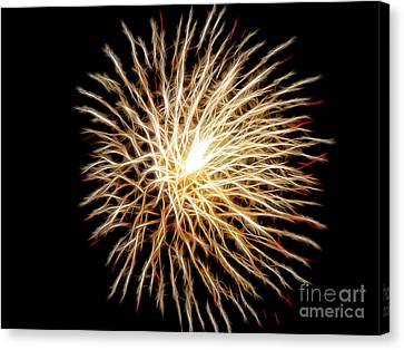 Fourth Of July Canvas Print by Mariola Bitner