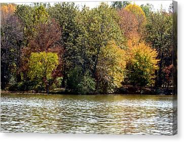 Fowler Lake 4 Canvas Print by Franklin Conour