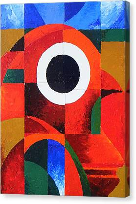 Fragmentation Canvas Print by Harold Bascom
