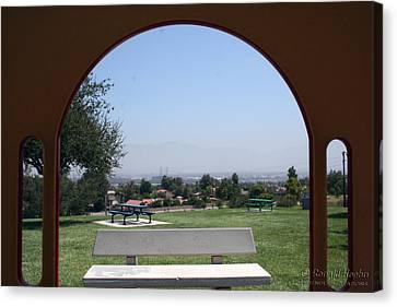 Framed Vista Canvas Print