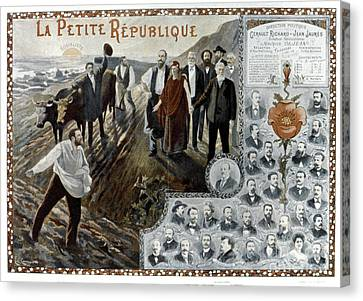 France: Socialism, 1900 Canvas Print by Granger