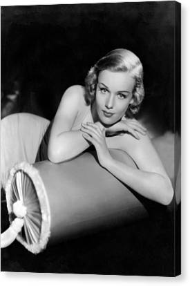 Frances Farmer, Paramount Pictures Canvas Print by Everett