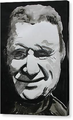 Francis Bacon Study Canvas Print by Gerard Dillon