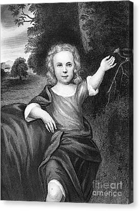 Francis Folger Franklin Canvas Print by Granger