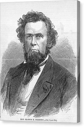 Francis H. Pierpont (1814-1899) Canvas Print by Granger