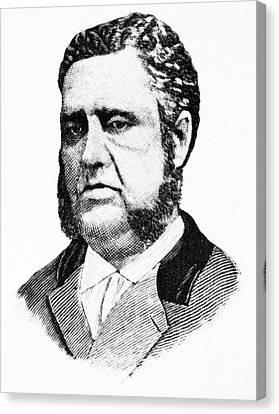 Francis Louis Cardozo (1836-1907) Canvas Print by Granger