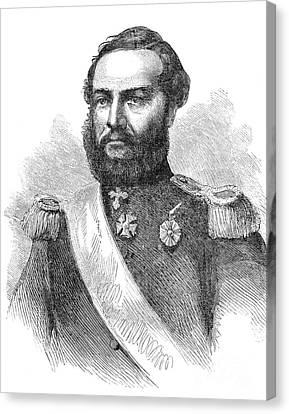 Francisco Solano Lopez Canvas Print by Granger