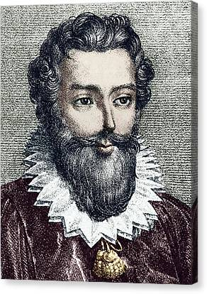 Francois Viete, French Mathematician Canvas Print by Sheila Terry