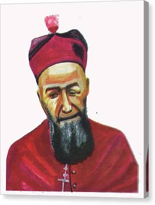 Francois Xavier Vogt Canvas Print by Emmanuel Baliyanga