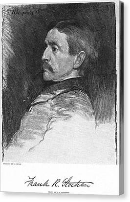 Frank R. Stockton Canvas Print by Granger