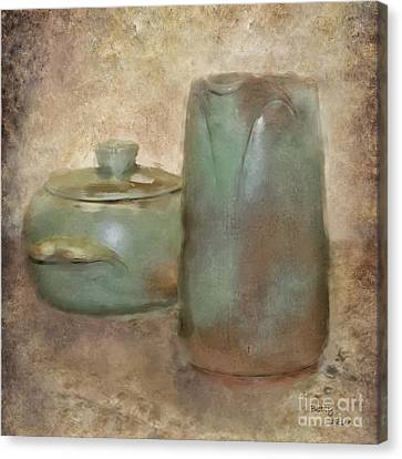 Frankhoma Pottery Canvas Print by Betty LaRue