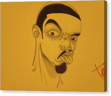 Frankie-dutch Canvas Print by Mr Ambition