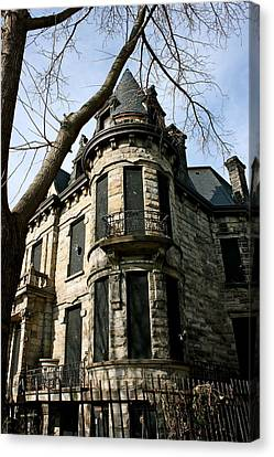 Franklin Castle Canvas Print by MB Matthews