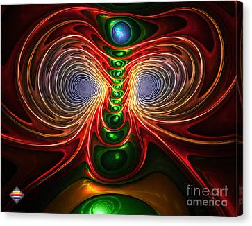 Freak Eyes Canvas Print by Vidka Art