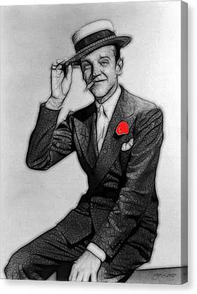 Fred Astaire Canvas Print by Maciek Froncisz
