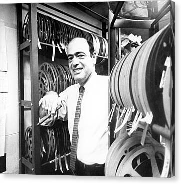 Fred Freed In The 1960s Canvas Print by Everett