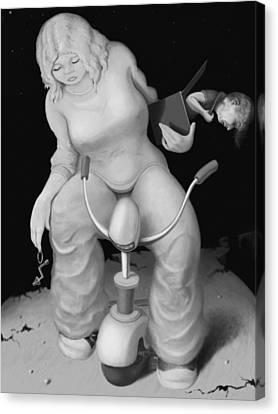 Freda Canvas Print by Louis Gleason
