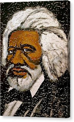 Frederick Douglas Canvas Print by Pete Maier