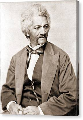 Frederick Douglass 1818-1895, Former Canvas Print by Everett