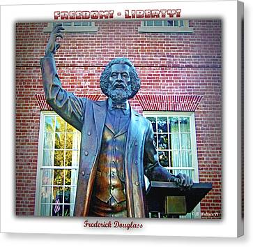 Frederick Douglass Canvas Print by Brian Wallace