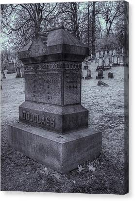Frederick Douglass Grave One Canvas Print by Joshua House