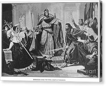 Frederick I (1123?-1190) Canvas Print by Granger