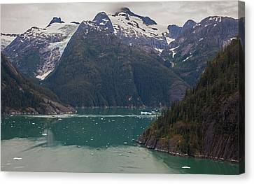 Frederick Sound Canvas Print by Mike Reid