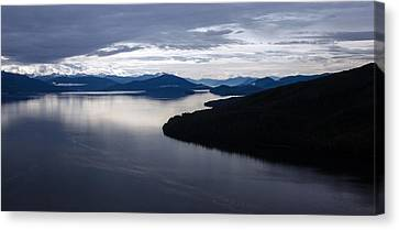 Frederick Sound Morning Canvas Print by Mike Reid