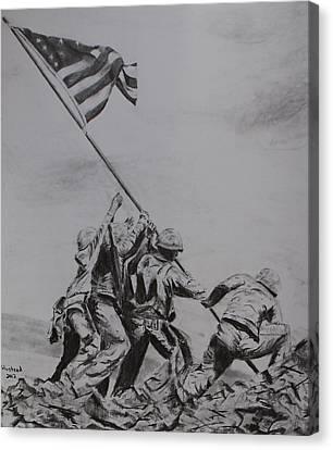 Freedom Canvas Print by Brian Hustead