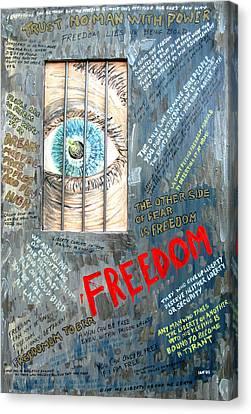 Freedom Canvas Print by Ian  MacDonald