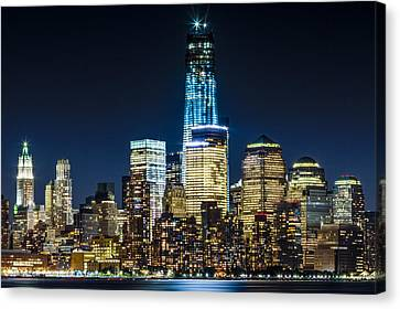 Freedom Tower  Canvas Print by Val Black Russian Tourchin