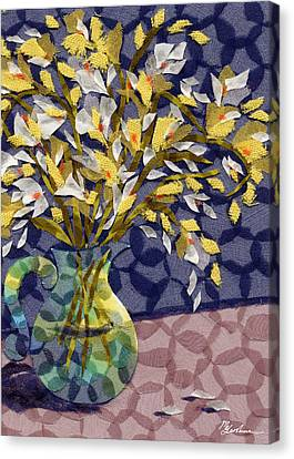 Freesia Canvas Print by Marina Gershman