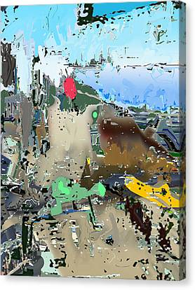 Freeviewing Canvas Print