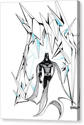 Freeze Canvas Print by Kendrew Black
