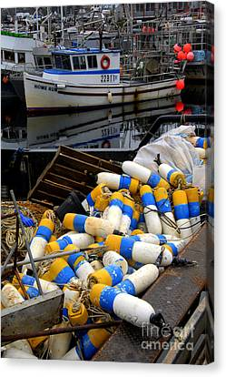 French Creek Trawlers Canvas Print by Bob Christopher