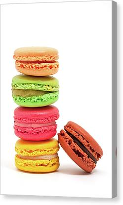 French Macaroons Canvas Print by Ursula Alter